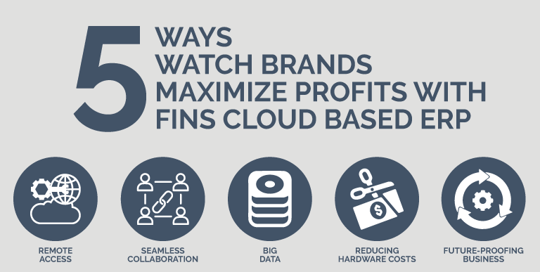 5 Ways Watch Brands Maximize Profits with FINS Cloud Based ERP